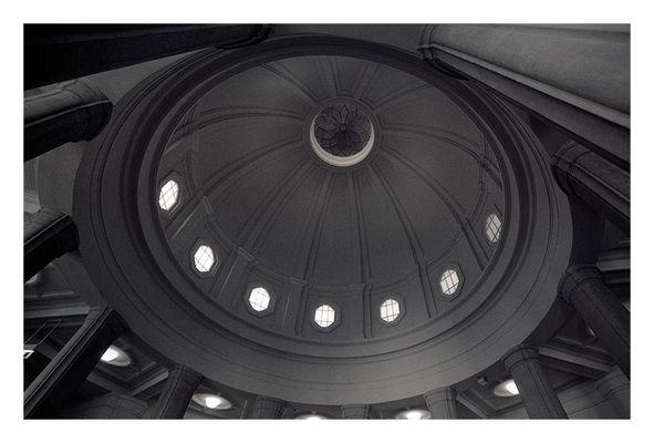 kuppel von unten