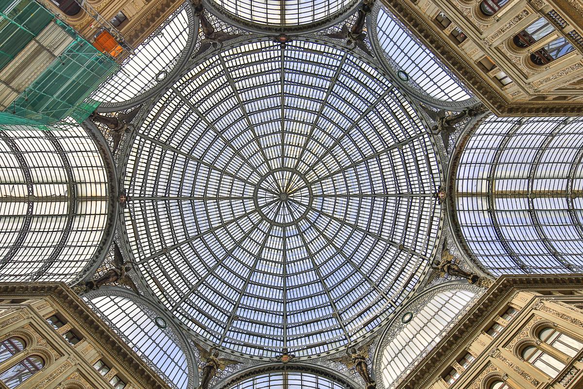 Kuppel_Galeria_Umberto in Neapel