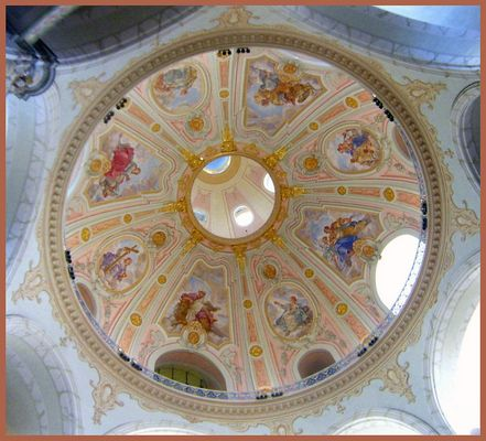 **Kuppelgewölbe Frauenkirche Dresden**