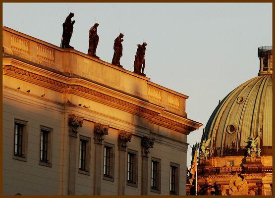 Kuppelteil des Berliner Doms