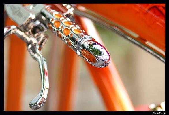 Kupplungshebel einer Harley