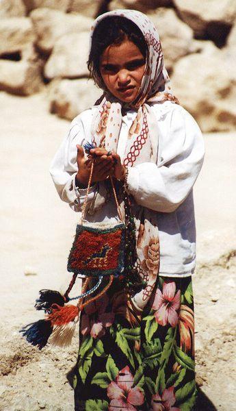 Kurdisches Kind im Norden von Iran