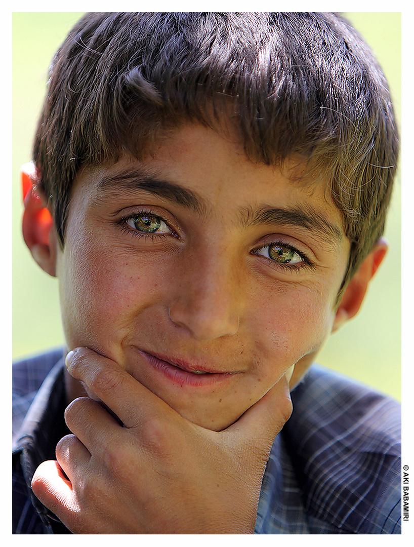 Kurdish boy - Kurdistan