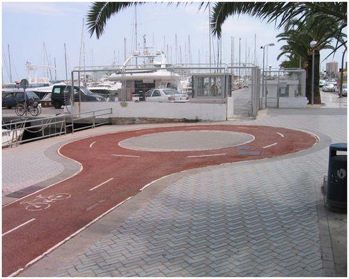 Kurioser Kreisverkehr auf Mallorca