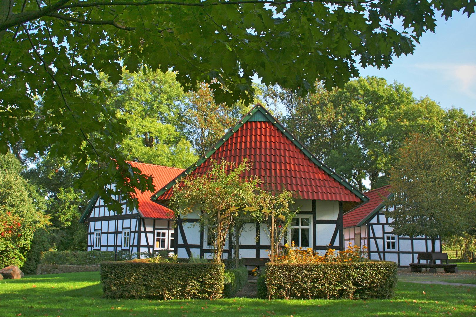 Kurpark in Hille-Rothenuffeln