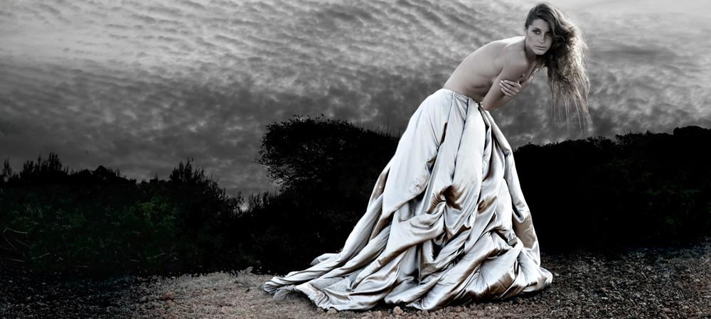 Kurru Kurru Silver Dress