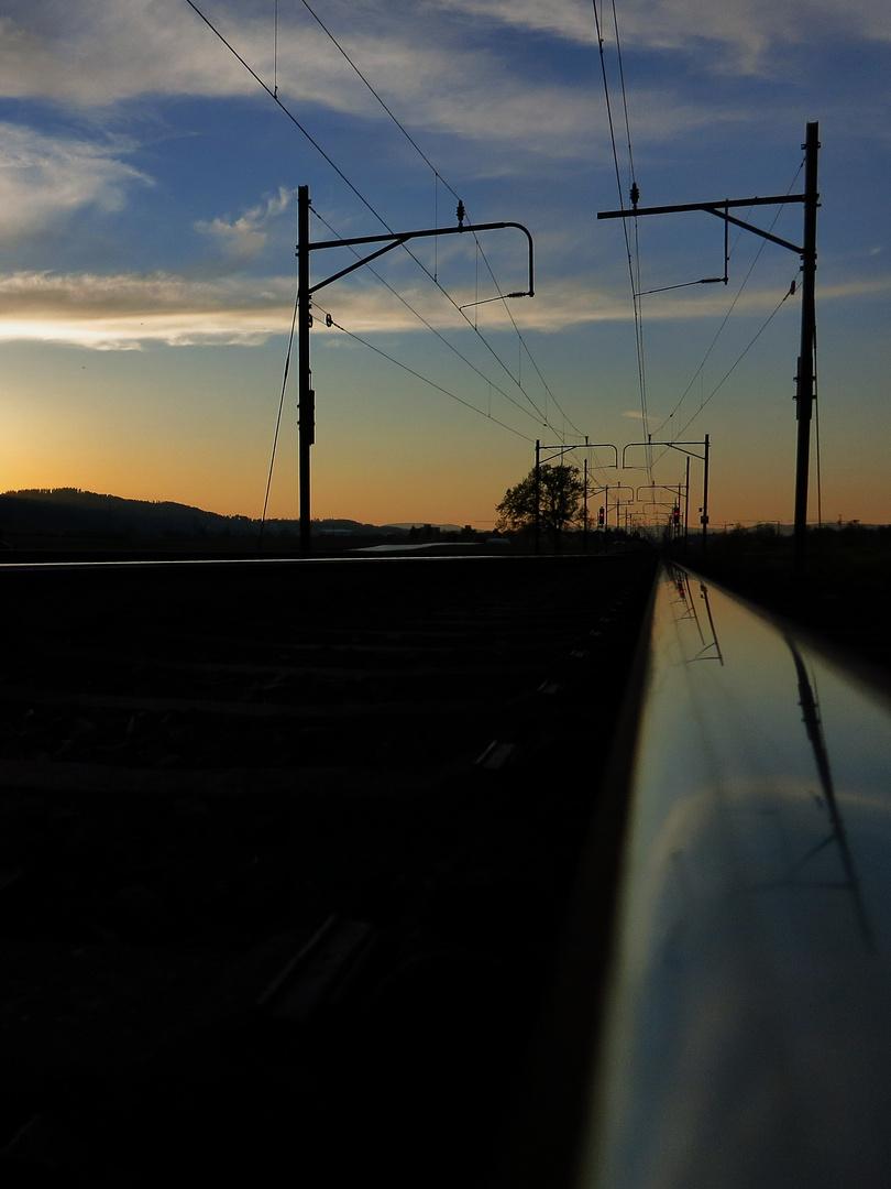 …kurz nach Sonnenuntergang...