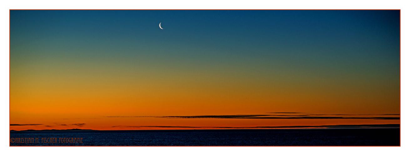 Kurz nach Sonnenuntergang...
