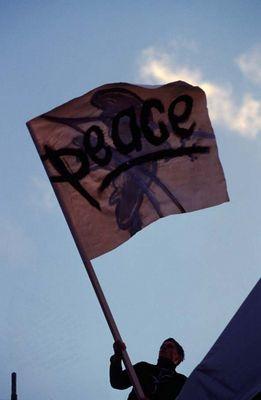 kurz vor ausbruch des Irak-krieges in Berlin 2