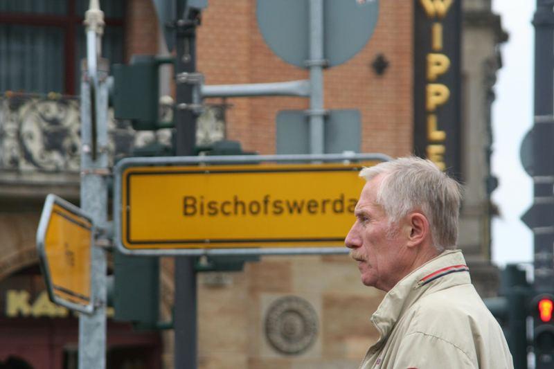 Kurz vor Bischofswerda...