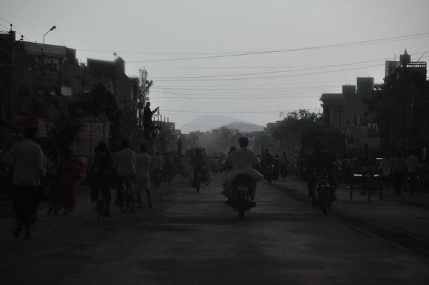 kurz vor dem Monsunregen
