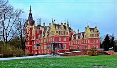Kurz vor Friederike-Neues Schloss ..