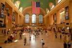 kurz vor Rush Hour in New Yorks Central Station