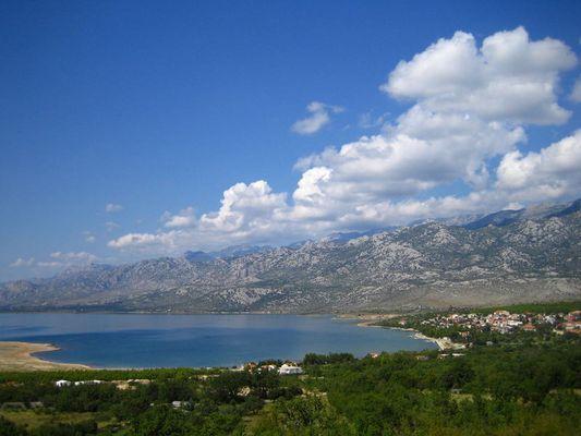kurz vor Zadar