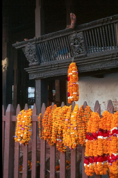 Kurze Pause vor dem Diwali-Fest
