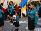"""""""Kuscheltierparade"""" am St. Georgstag in Valletta/Malta"""