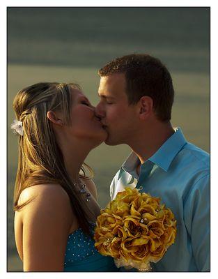 Kuss am Strand II