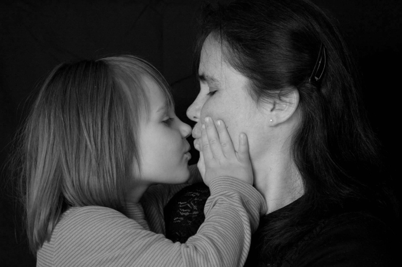 Kuss für Mami