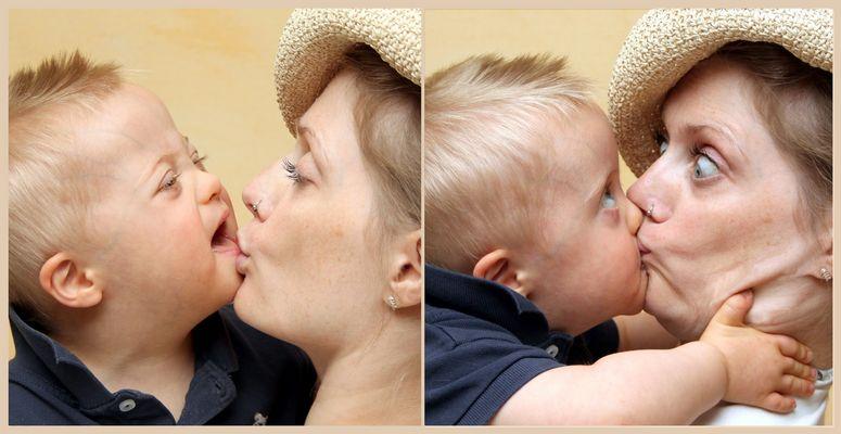 Kussi für Mama