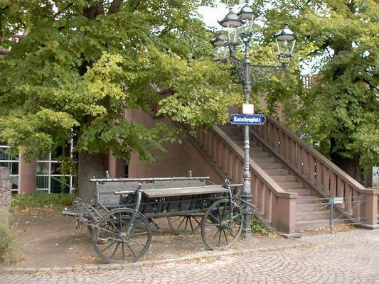 Kutsch (Park-) platz