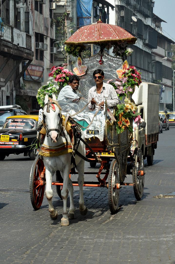 Kutsche in Mumbai
