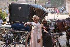 Kutscher street Luxor Reise