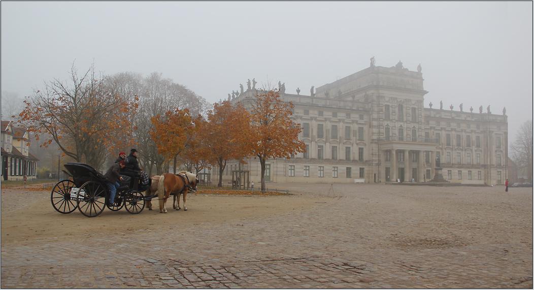 Kutschfahrt durch den Nebel