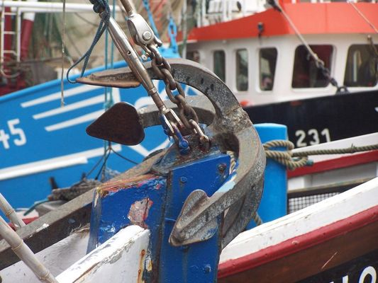 Kutterflotte in Neßmersiel
