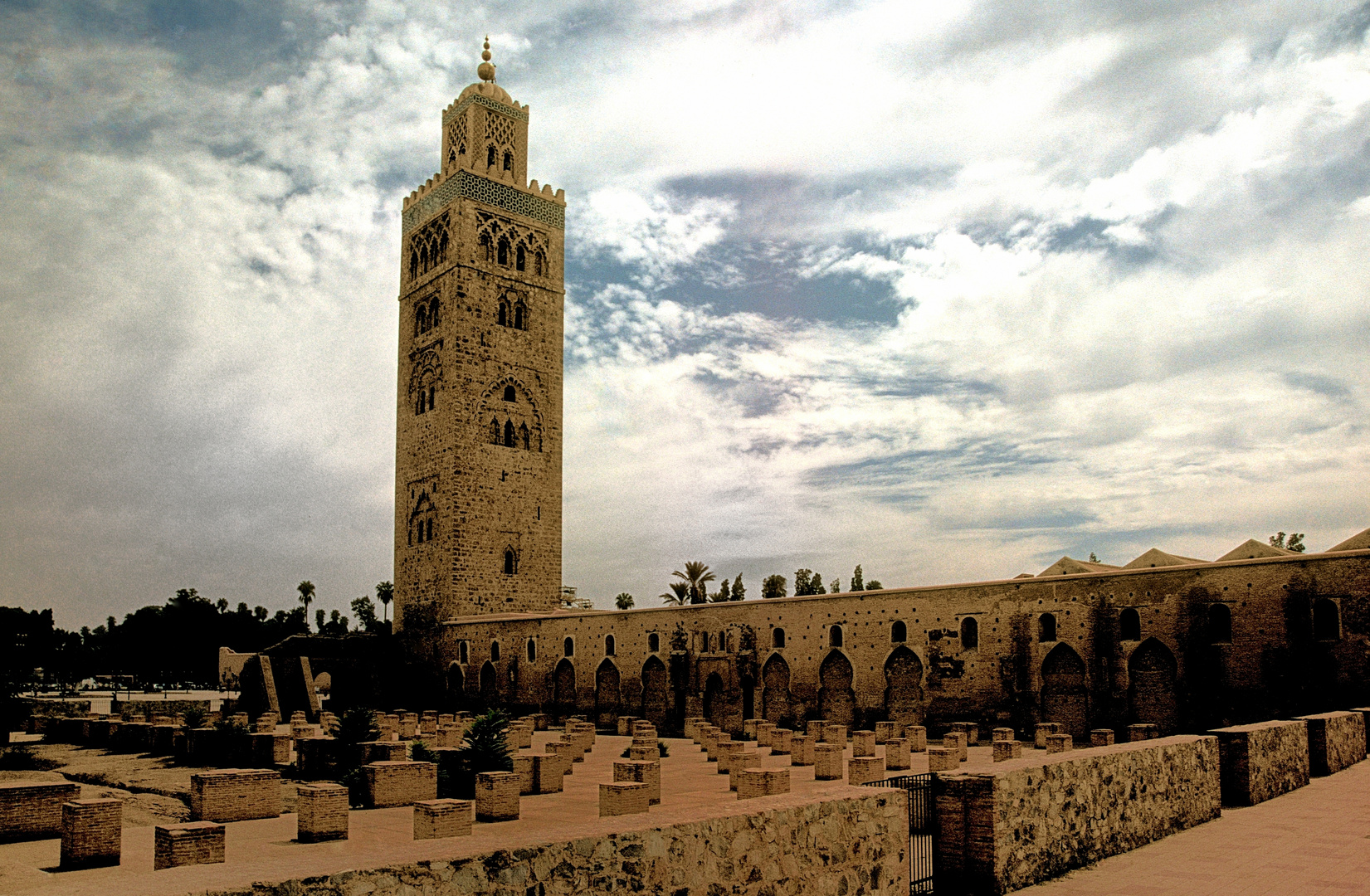 Kutubiya Moschee in Marrakech