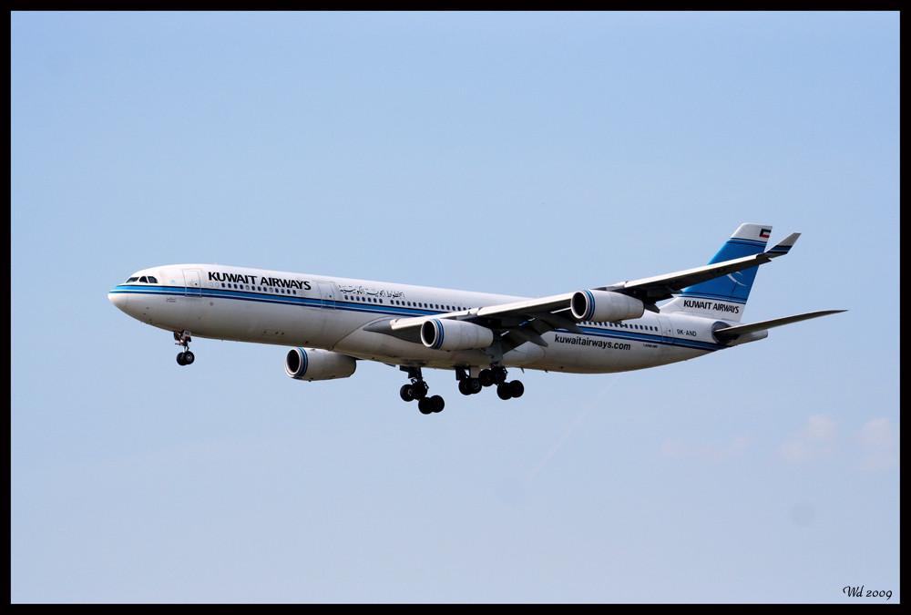 Kuwait Airways A340-300