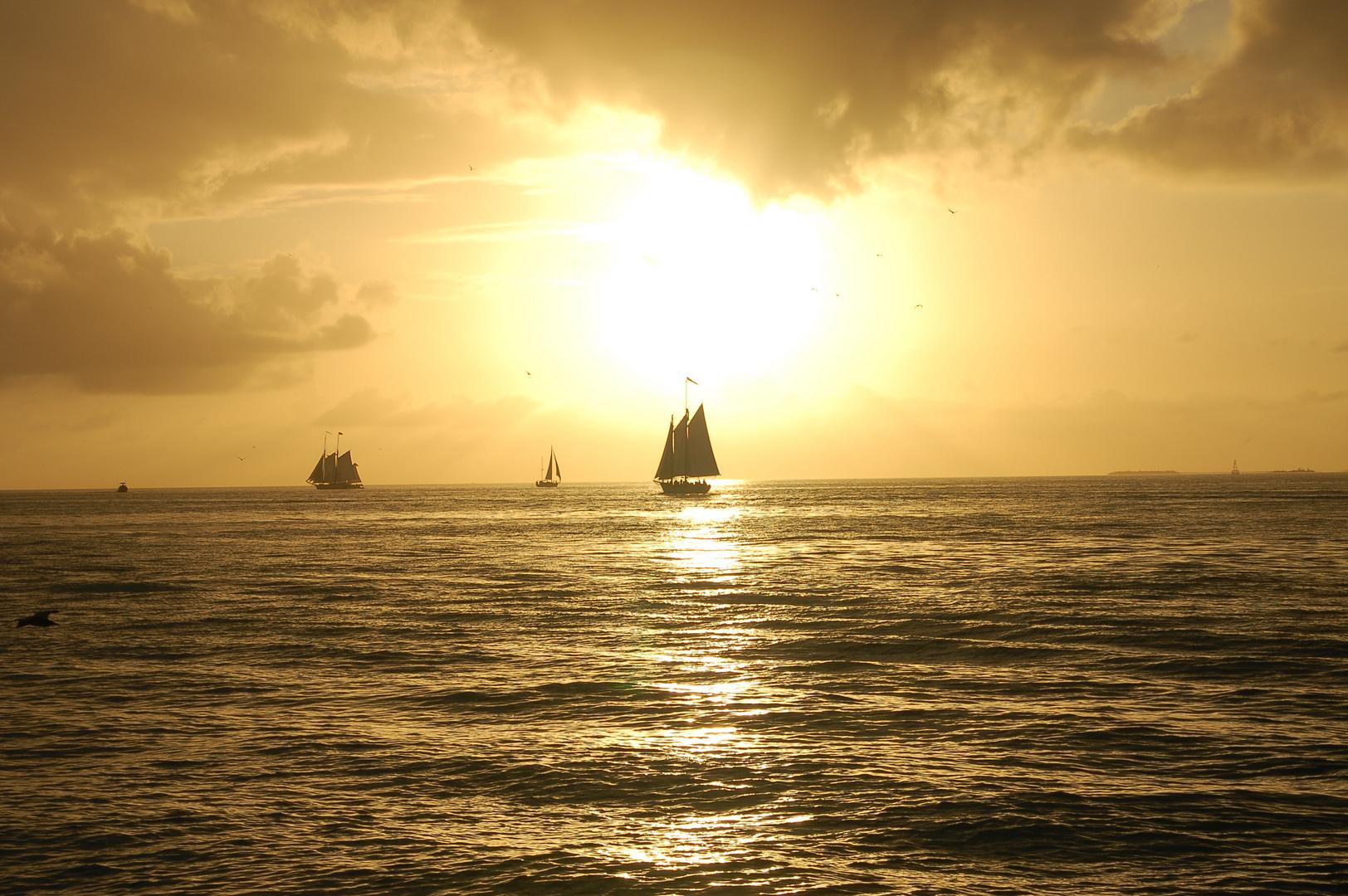 KW sun set