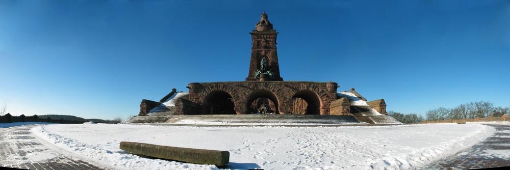 Kyffhäuser-Denkmal bei Sangerhausen.