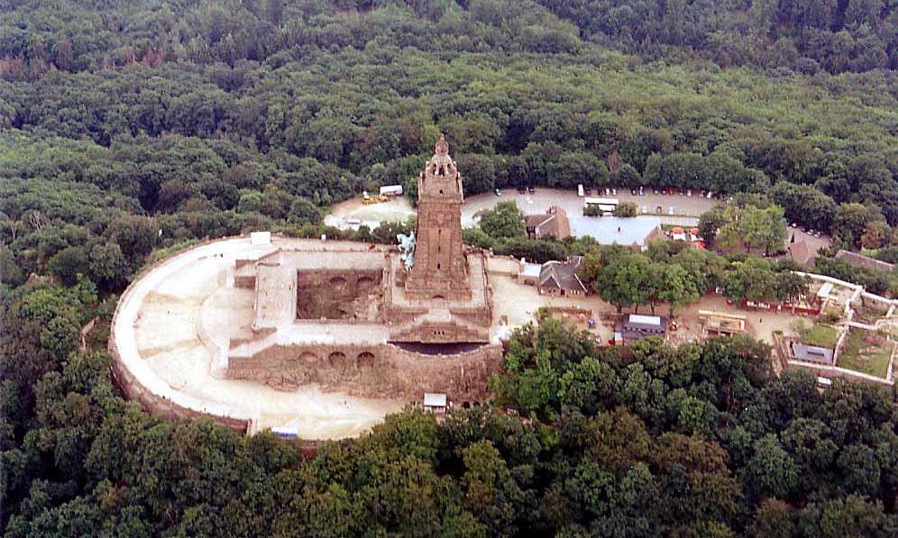 Kyffhäuserdenkmal in Thüringen