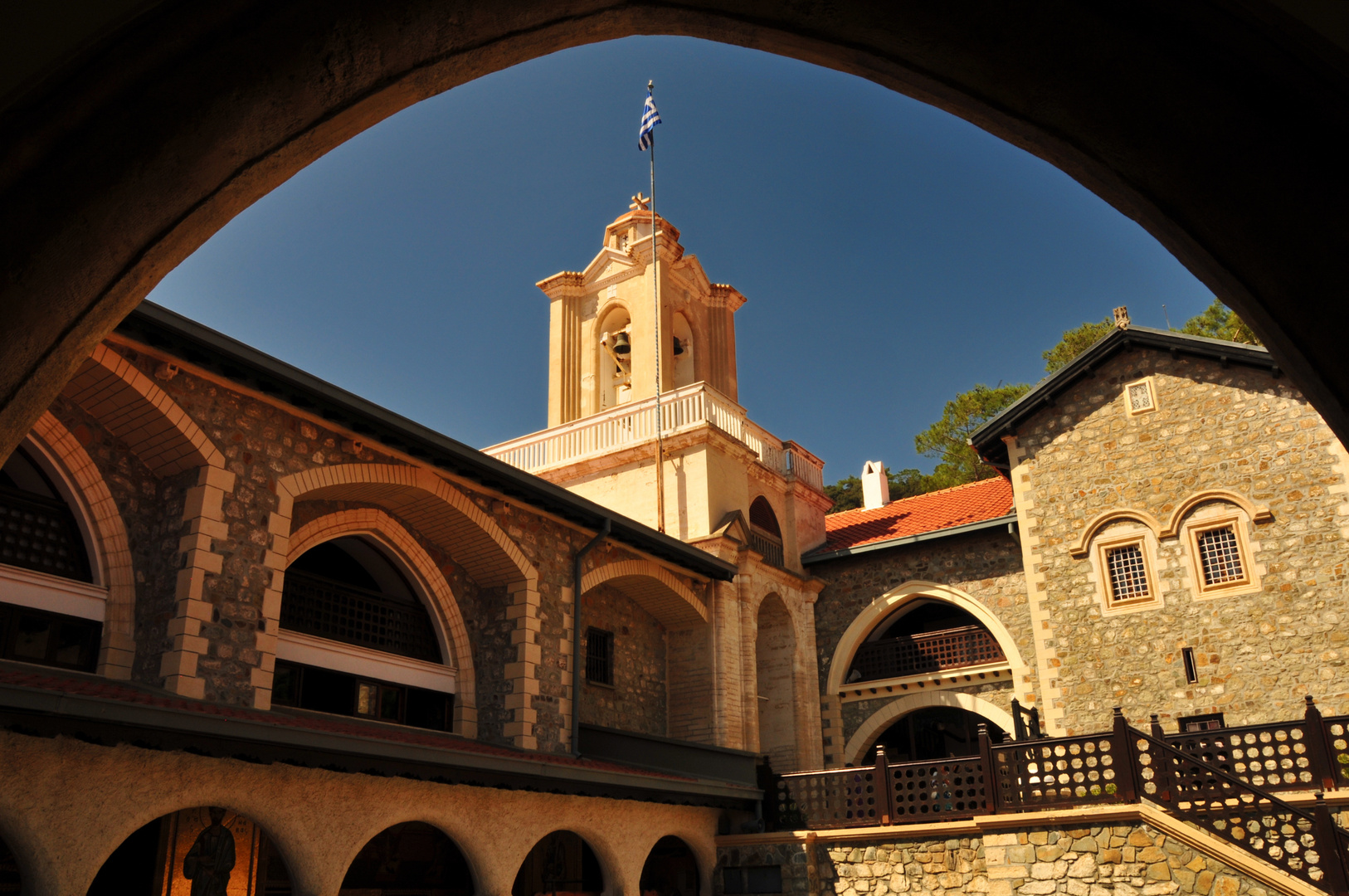 Kykko Kloster im Troodos Gebirge