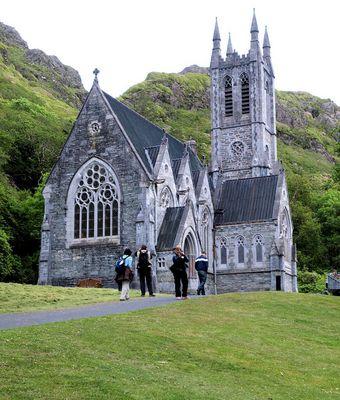 Kylemore Abbey Mausoleum 2
