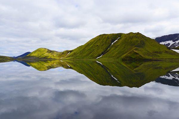 Kylingavatn in der Nähe von Landmannalaugar