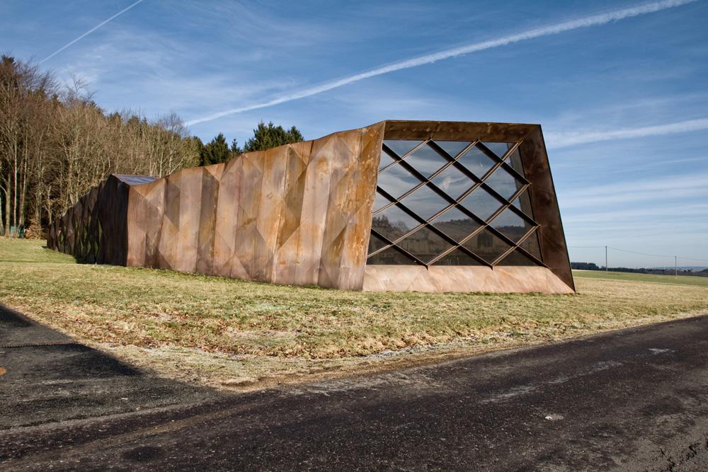 KZ-Gedenkstätte Dokumentationszentrum Hinzert außen