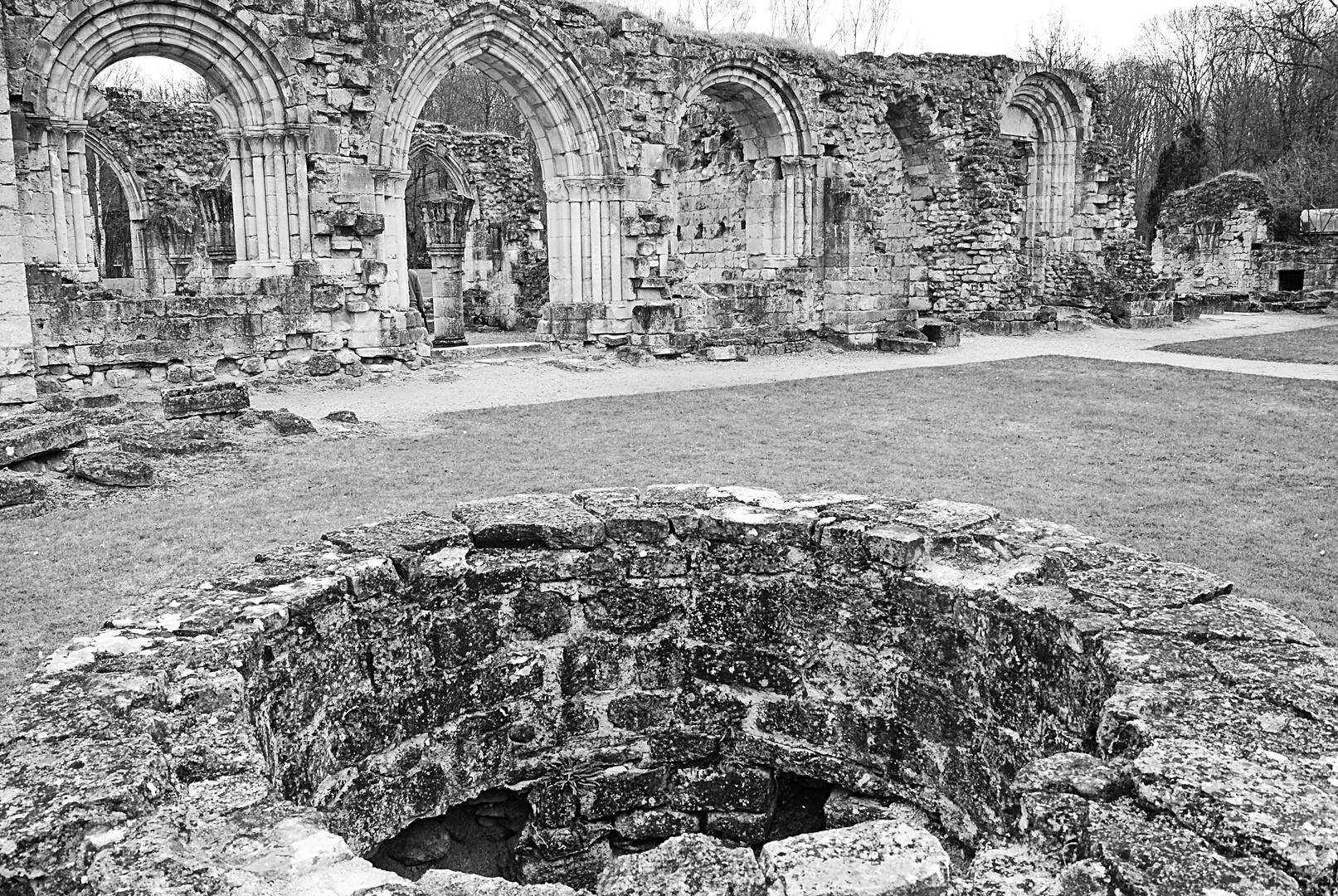 L' abbaye de Vauclair, Aisne