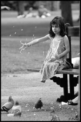 l enfant et l oiseau