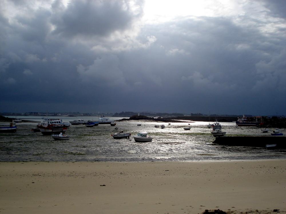 l ile de batz plage