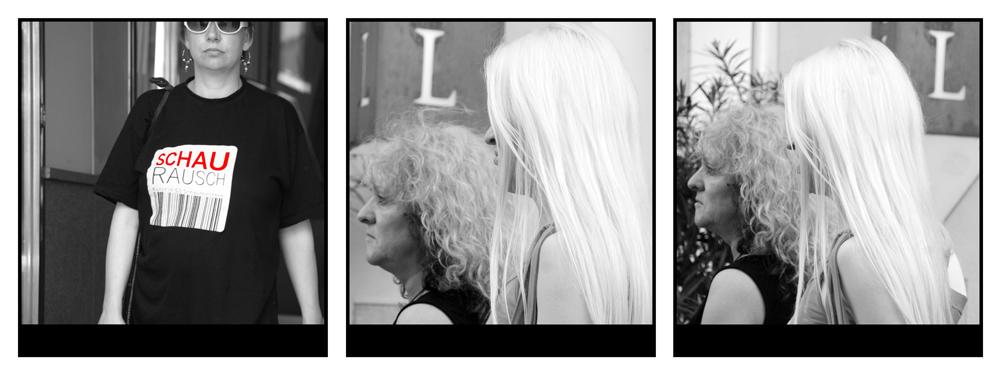 L vor blond und blond ...