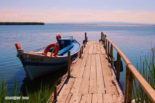 La Albufera, Embarcadero Cañas y Barro.