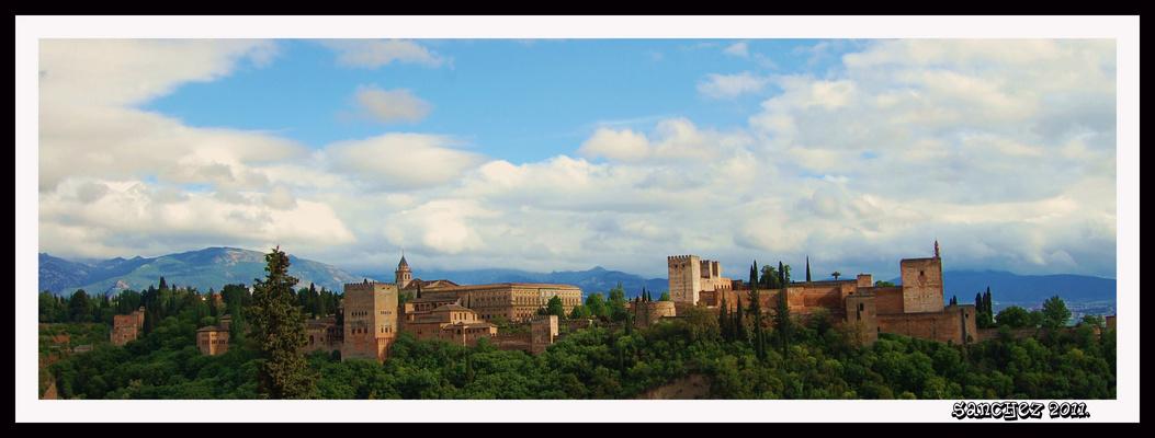 La Alhambra.