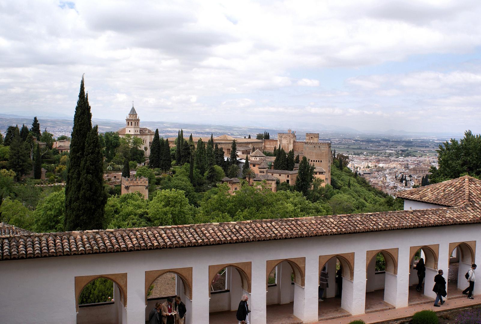 La Alhambra...