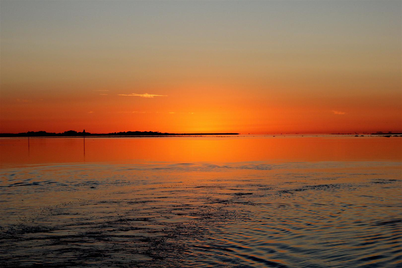 La Baie de Somme et son coucher de soleil