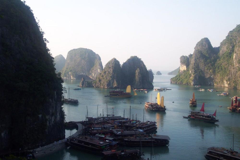 la baie d'Halong (vietnam)