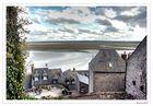La baie vue du Mont St Michel