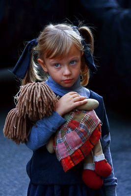 La bambola di pezza