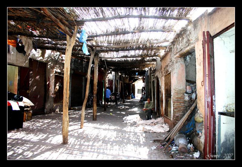 La Banlieue du Souk de Marrakech.