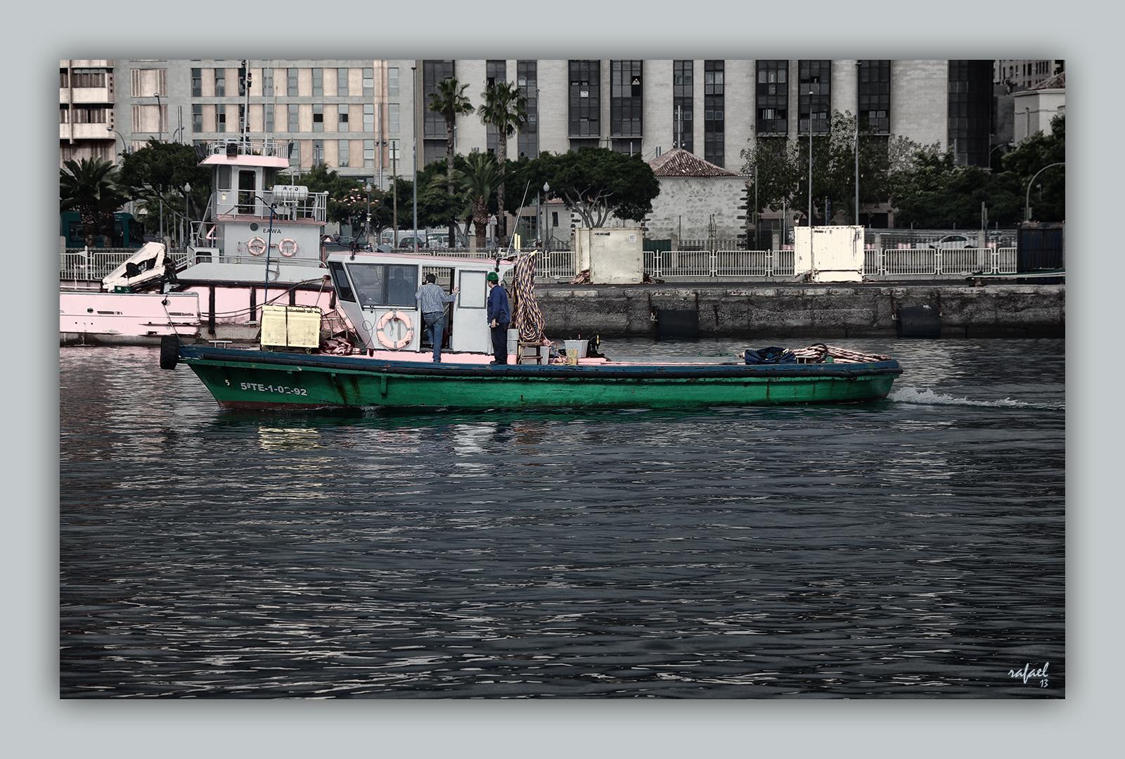 La barca verde